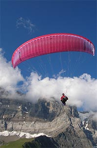 Travel Insurance for Parapenting
