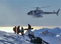 Insurance for Helicopter skiing and boarding