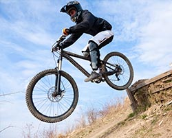 Mountain Biking and Downhill Mountain Biking